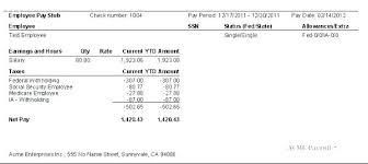 Sample Check Stub Sample Pay Stubs Template Inspirational Free Stub Excel California