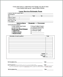 Snow Removal Bid Template Snow Removal Quote Template