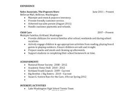 Best Free Resume Templates Resumes For Highschool Students With No
