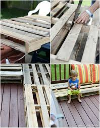 Patio From Pallets Diy Pallet Furniture A Patio Makeover