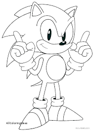 Sonic Coloring Book Sonic Coloring Book The Hedgehog Books Pages