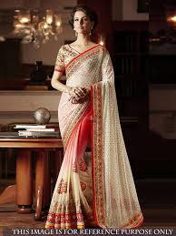 Surat Designer Sarees Online Khwaab 57 Series Heavy Thread Work Designer Saree Wholesal