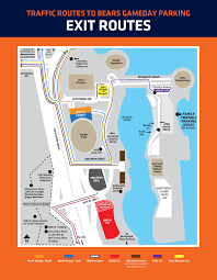 Space Coast Daily Park Seating Chart Parking Transportation Guide Chicago Bears Official Website