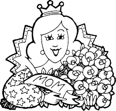 Small Picture Mothers Day Coloring Pages
