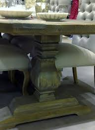 atlas chunky oak hidden home. bespoke handmade table bulbous leg atlas chunky oak hidden home s