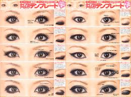 how eye makeup changes the shape