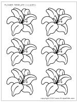 Small Picture Flowers Printable Templates Coloring Pages FirstPalettecom