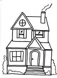 Huizen Groot Huis Kleurplaten