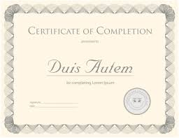 certificate template vector eps logo icons brand certificate template