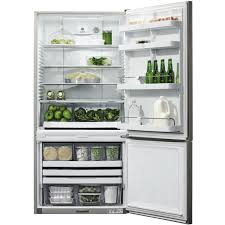 Counter Depth Refrigerator Only Fisher Paykel 176 Cu Ft Bottom Freezer Counter Depth