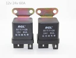 online buy whole automotive relay from automotive relay 5 sets 12v24v 60a high quality auto relay automotive relay truck motor starting relay