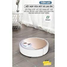 ROBOT Hút Bụi Lau Nhà Siêu Thông Minh Điều Khiển Qua APP Điện Thoại, Cảm  Ứng Chạm ES06 Super Pro Tự Động Làm Sạch