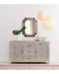 white wash dresser. Chennai 3-Drawer Whitewash Dresser White Wash