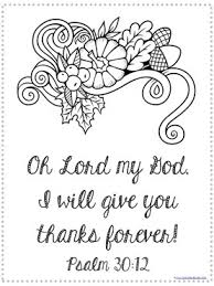 Thanksgiving Bible Verse Coloring Pages 1111