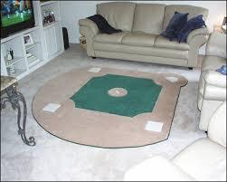 custom baseball field rug br back