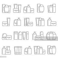 60点の化粧品のイラスト素材クリップアート素材マンガ素材アイコン