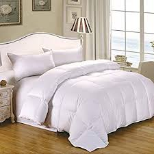 cal king down comforter. CozyFeather Real Goose Down Comforter Duvet - Cal King Oversize Hypoallergenic 100 Percent T