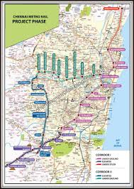 Chennai Metro Rail Stations Recruitment Timings Fare Chart Map