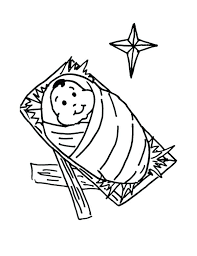 Manger Coloring Page Manger Coloring Page By In Pages Printable Cute