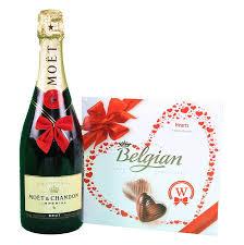 send gifts in europe moet chandon belgian bonbons box