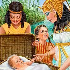 Moïse sauvé des eaux | Histoire biblique
