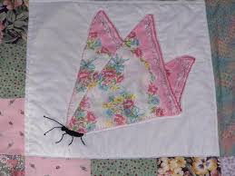 18 best butterfly hankie quilts images on Pinterest | Bedrooms ... & Find this Pin and more on butterfly hankie quilts. Adamdwight.com