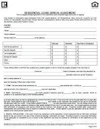 House Rent Contract Form Inspirational Best Rental Forms Images On ...