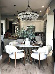 kitchen table chandelier weekend wishes weekend s design small kitchen table chandelier