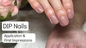 new gelish dip nails application first impressions nail harmony uk dip nails