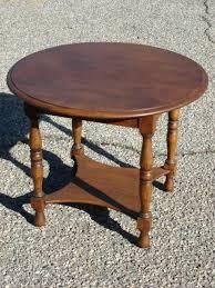 side tables antique round table por of vine