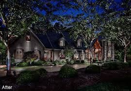 landscaping lighting ideas. Before / After Lighting Designs Landscaping Lighting Ideas