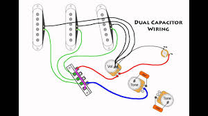 stratocaster mod wiring dual capacitors stratocaster mod wiring dual capacitors