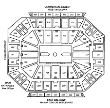 Dcu Center Seating Chart For Concerts Dcu Seat Map 2019