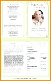 Free Funeral Program Templates Download Enchanting Funeral Program Samples Free Templates Printable Template Word