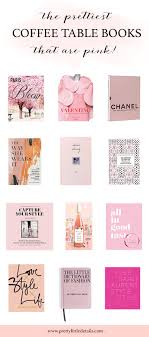 the best pink coffee table books