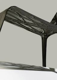 Carbon Fiber Chair Marleen Kaptein Uses Robots To Weave Carbon Fibre Chair