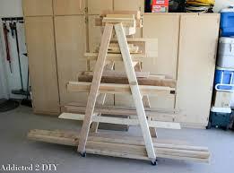 diy portable lumber rack plans rogue engineer