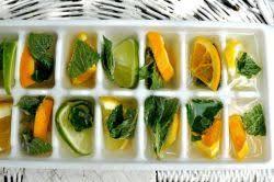 Decorative Ice Cube Trays Technique Fruit Filled Decorative IceCubes Emano Kam 47