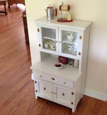 Kitchen Cupboard Furniture Vintage Childs Play Kitchen Cupboard Hutch Wood Step Back
