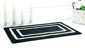 black bathroom rug and white bath mat sets gray rugs bear blac