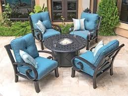 blue patio furniture navy blue patio cushions