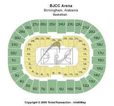 Bjcc Arena Tickets Bjcc Arena In Birmingham Al At Gamestub
