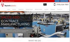 Specialty Design And Manufacturing Ontario Plastic Molding Manufacturers