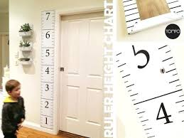 Printable Wall Growth Chart Charts Free Height Images Of