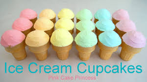 rainbow cupcakes in ice cream cones. Modren Cupcakes How To Make Ice Cream Cupcakes U0026 Rainbow With Greenu0027s Cake Mix  Rich N Smooth Topping With In Cones E