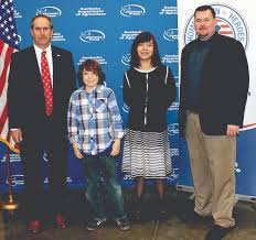 state agriculture department honors poster and essay contest ethan carpenter second from left was the statewide digital art winner and lanta
