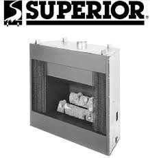 lennox superior b40 b 40 replacement fireplace parts
