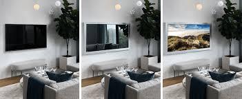 custom framed mirror tvs made in new