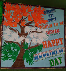 Republic Day Chart Decoration Ideas For School