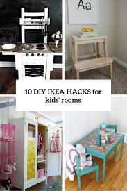 Image Wood 10 Diy Ikea Hacks For Kids Rooms Cover Shelterness 10 Awesome Diy Ikea Hacks For Any Kids Room Shelterness
